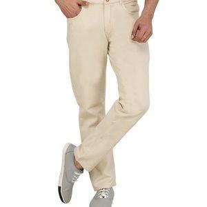 YSL Men's Cream Coloured Jeans